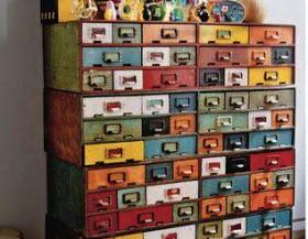 Pintar muebles de colores - Muebles naturales para pintar ...
