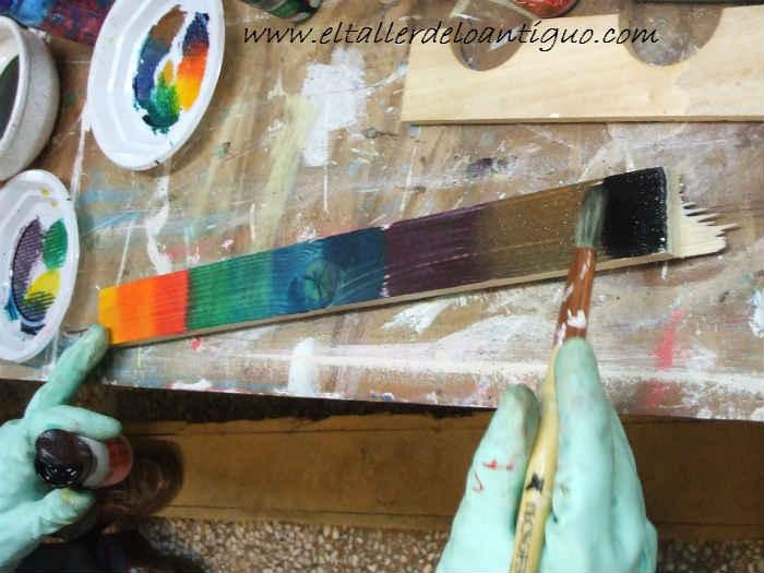 Como hacer tintes de colores para madera el taller de - Colores de madera ...