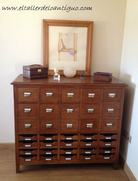 Como restaurar un archivador de los a os 40 el taller - El taller de lo antiguo ...