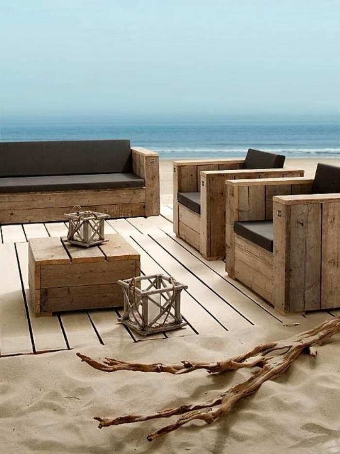 Construir muebles con palets el taller de lo antiguo - Muebles de derribo ...