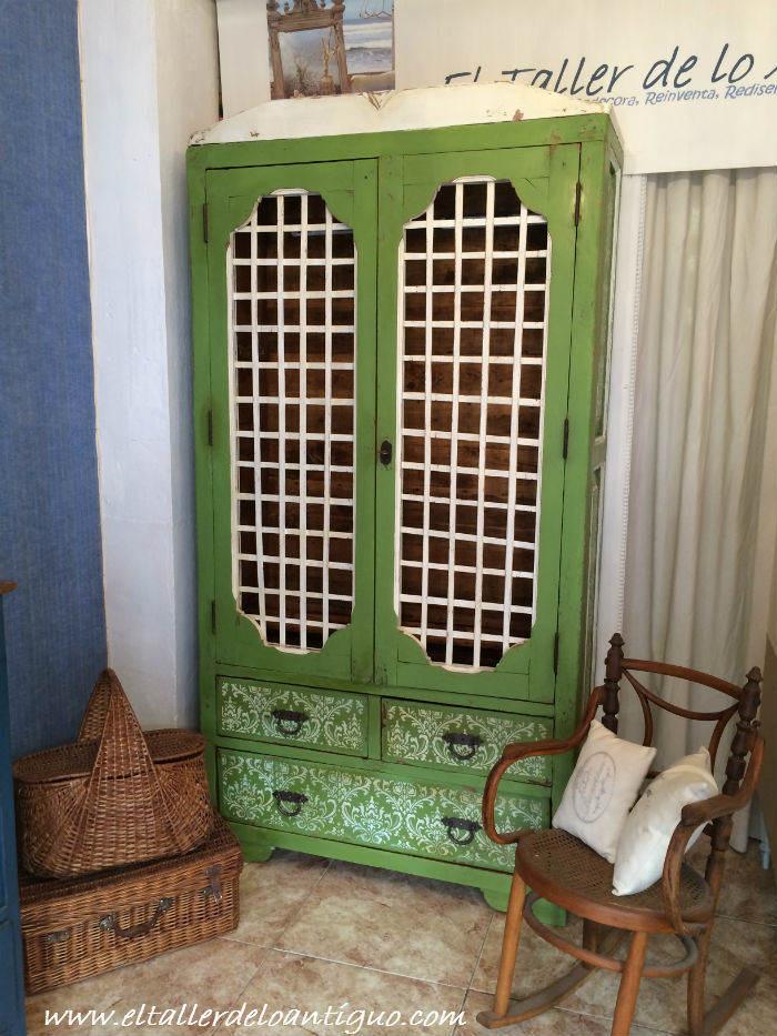 Stencil en muebles el taller de lo antiguo - El taller de lo antiguo ...