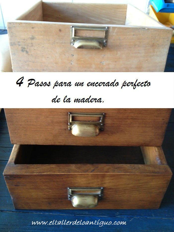 4 pasos para un encerado perfecto de la madera   el taller de lo ...