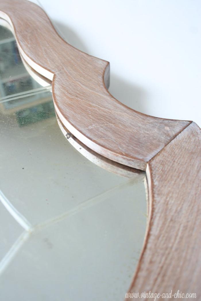 Como hacer una patina blanca el taller de lo antiguo for Como hacer espejos vintage