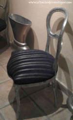 Como entelar una silla