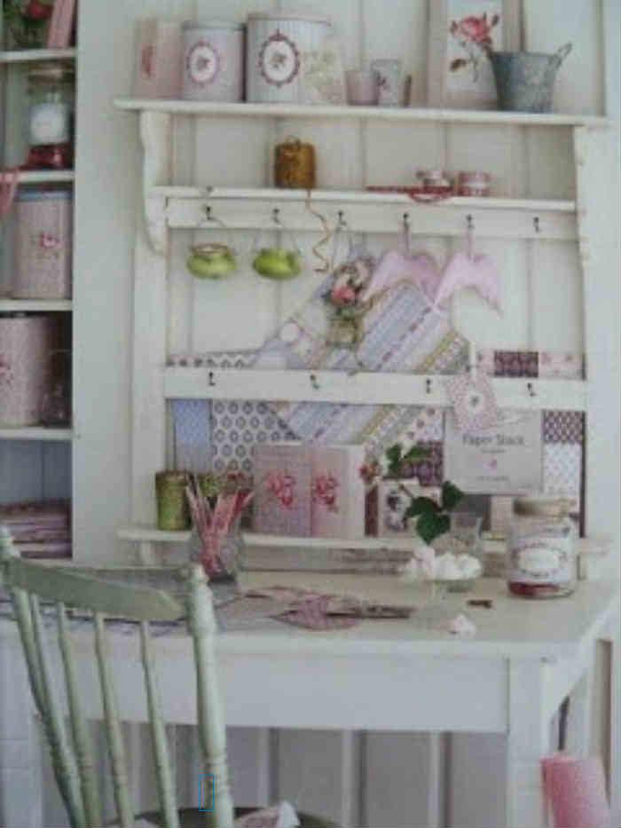 Mueble de pared antiguo blog de una cazachollos - Shabby chic muebles ...