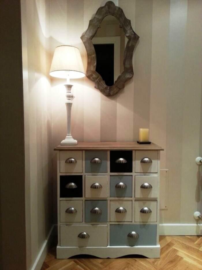 Reinventa con pintura de cl sico a moderno el taller for Pintura decorativa muebles