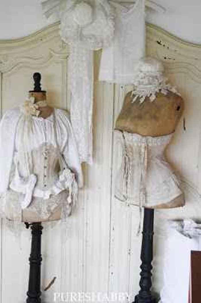 Decora con maniqu es shabby vintage el taller de lo - El taller de lo antiguo ...