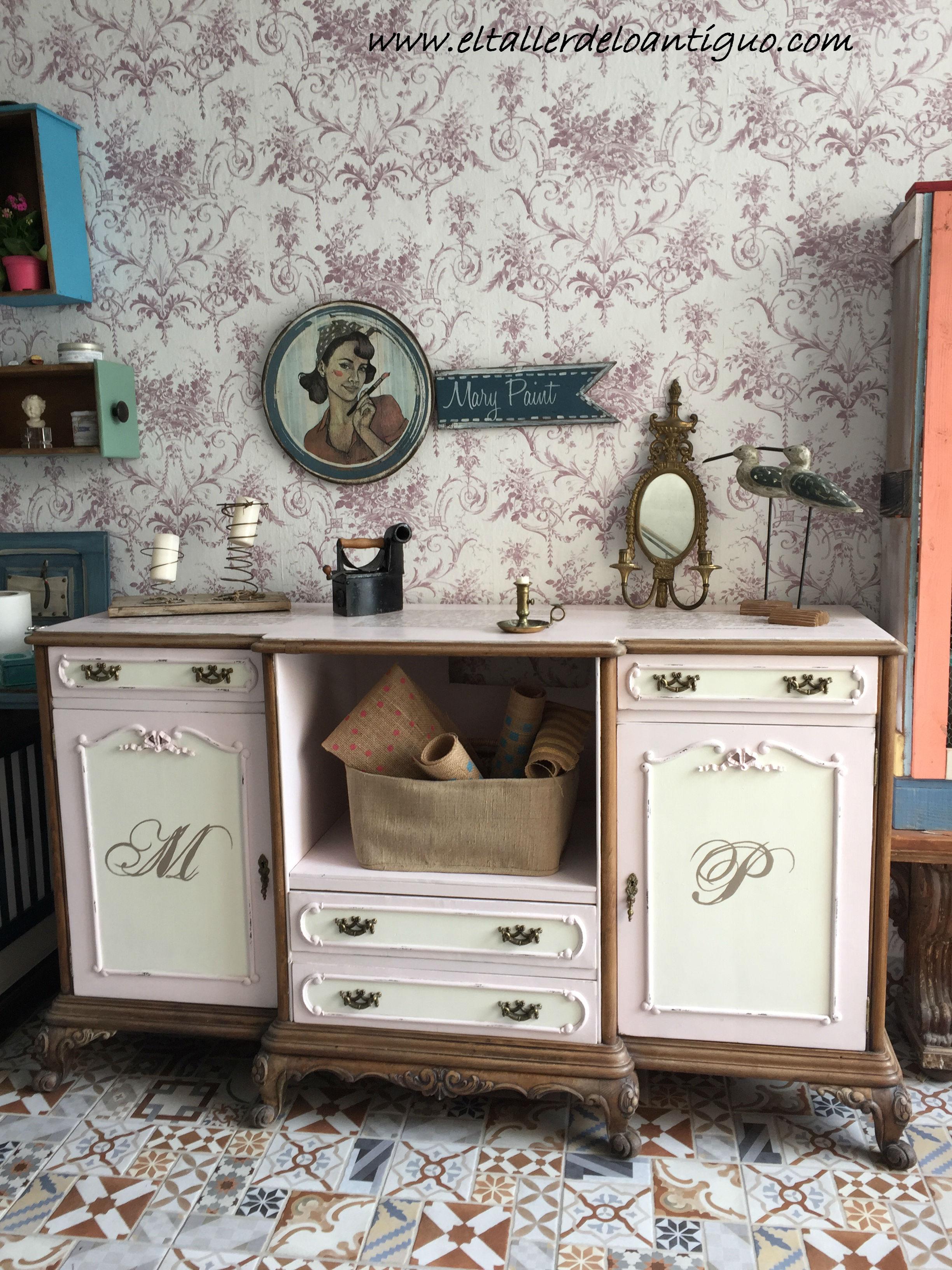 Pinturas Mary Paint Archives El Taller De Lo Antiguo # Muebles Toque Antiguo