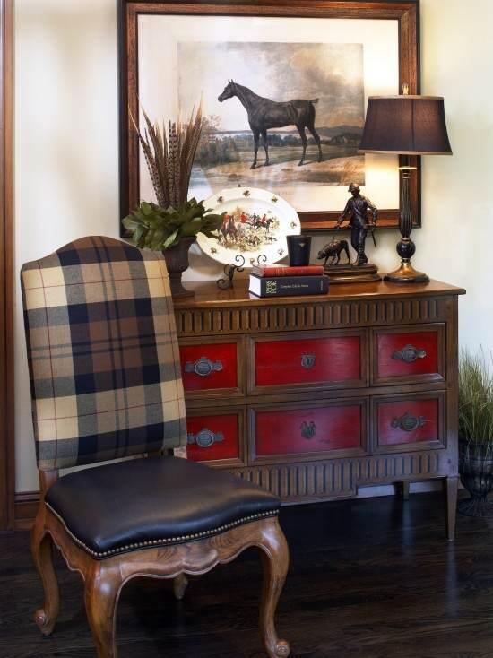 Pintar muebles de rojo toscana el taller de lo antiguo - Pintar muebles antiguos ...