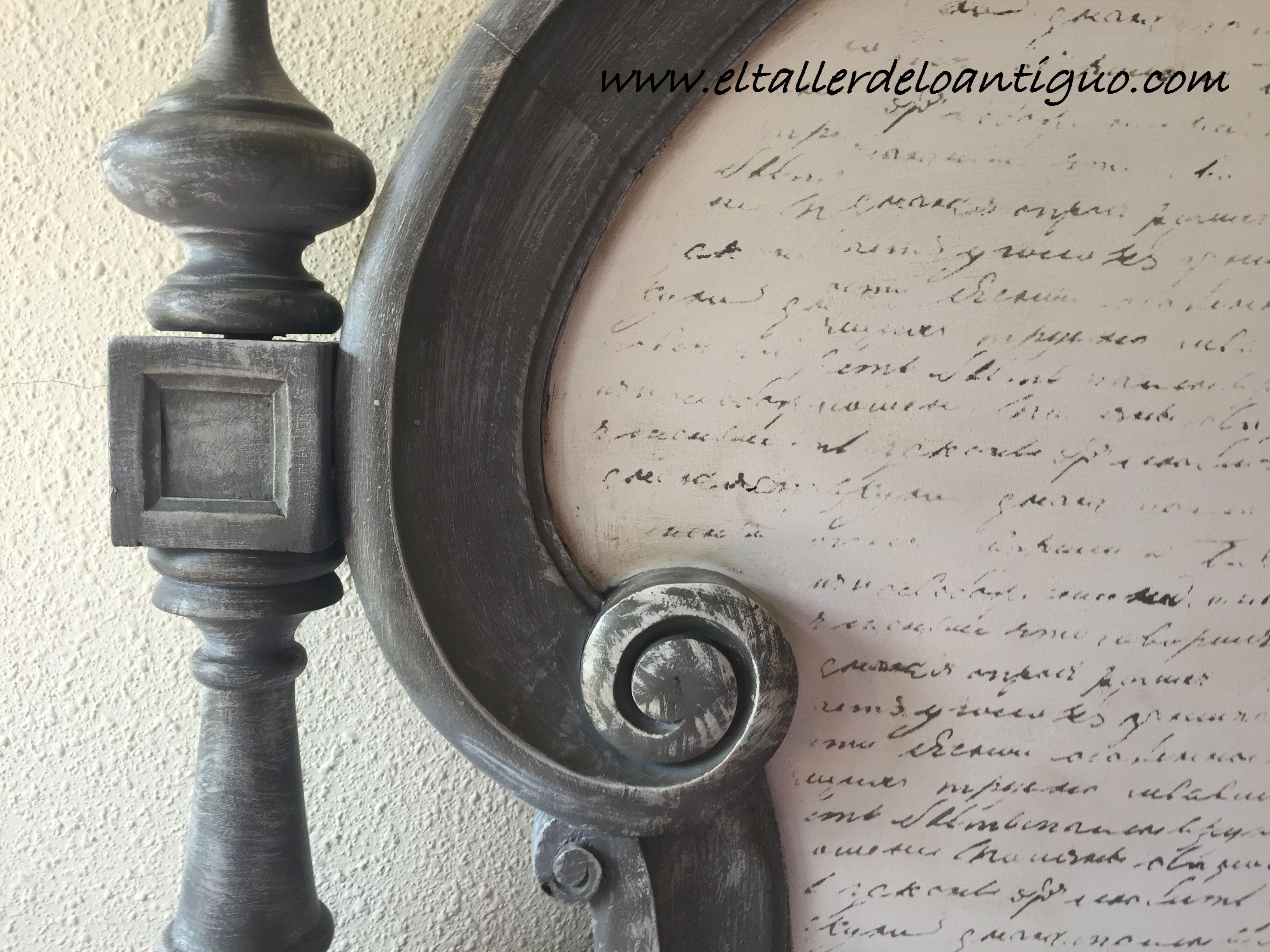 Pintura decorativa con stencil el taller de lo antiguo - El taller de lo antiguo ...
