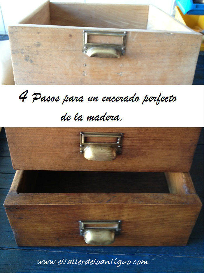 4 Pasos para un encerado perfecto de la madera - **El Taller de lo ...