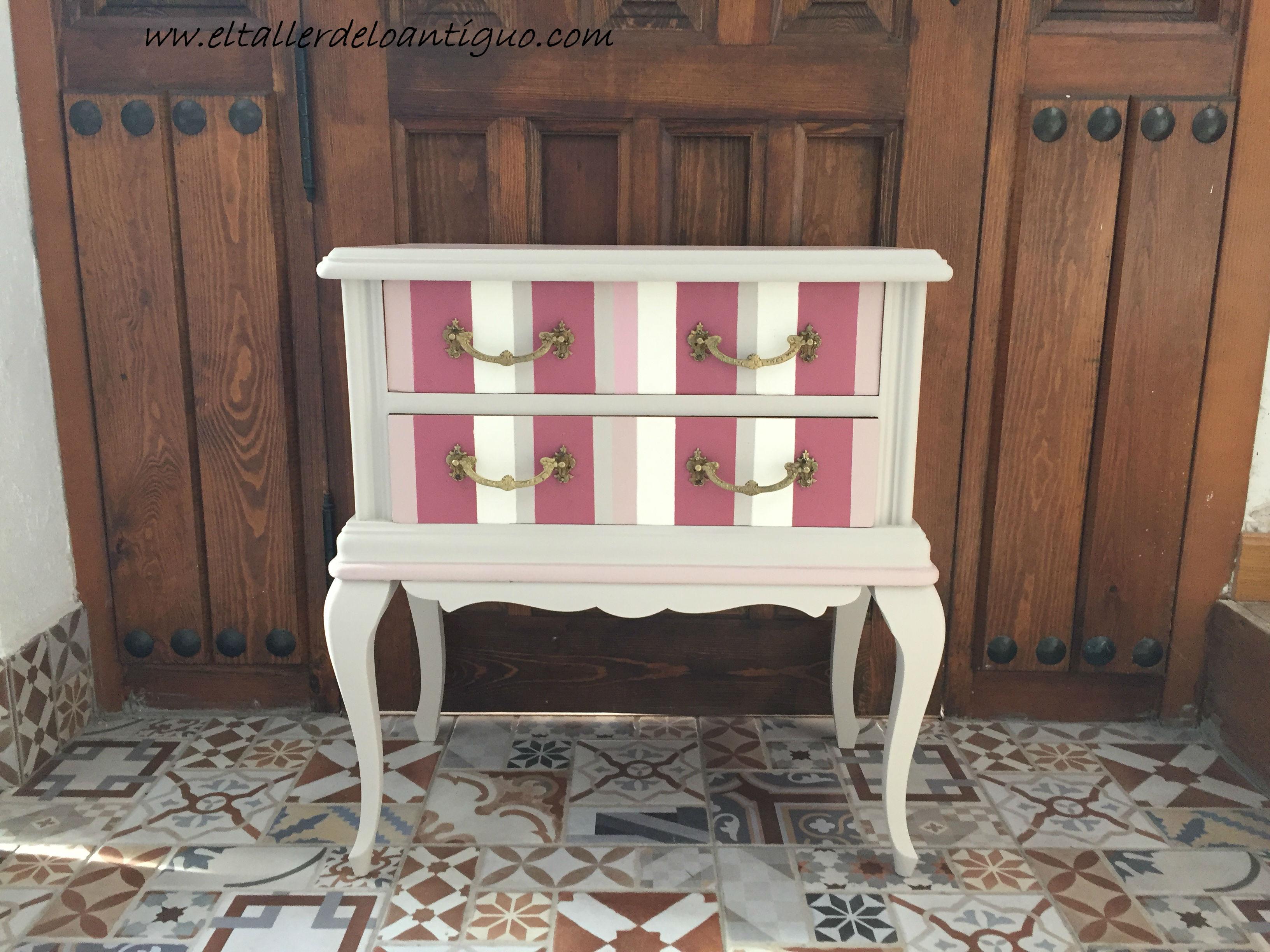 Pintar Una Coqueta Antigua El Taller De Lo Antiguo # Muebles Toque Antiguo