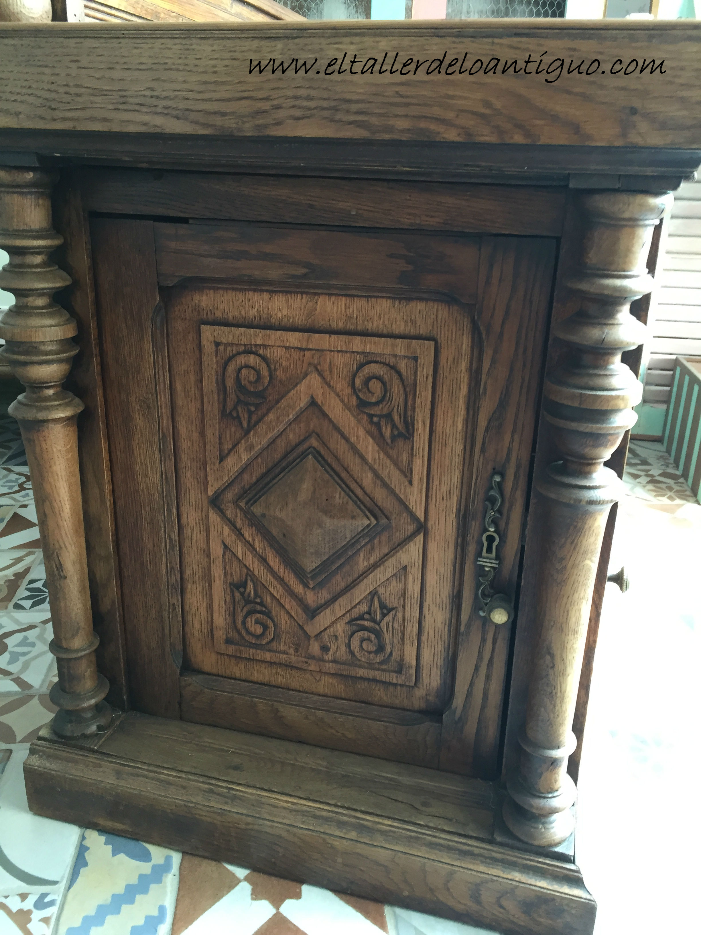 Tema 10 Tecnica Decape El Taller De Lo Antiguo # Muebles Nauticos Antiguos