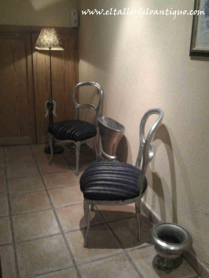 Plateamos una silla el taller de lo antiguo - El taller de lo antiguo ...
