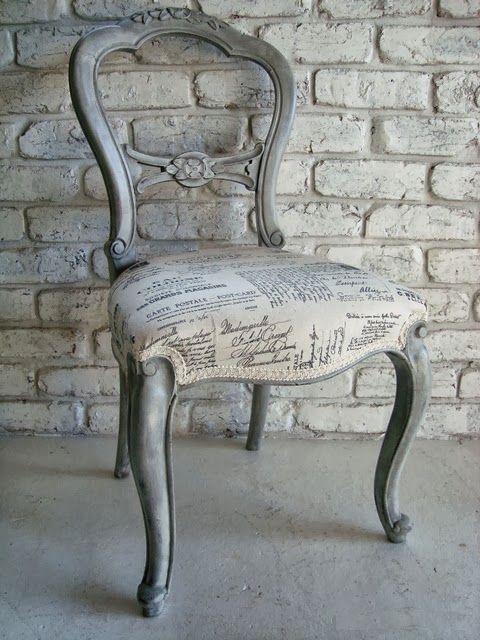 Transfers en tela tapicer a vintage el taller de lo - El taller de lo antiguo ...