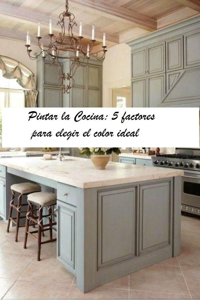 Pintar Cocina: 5 factores para elegir el color - **El Taller de lo ...