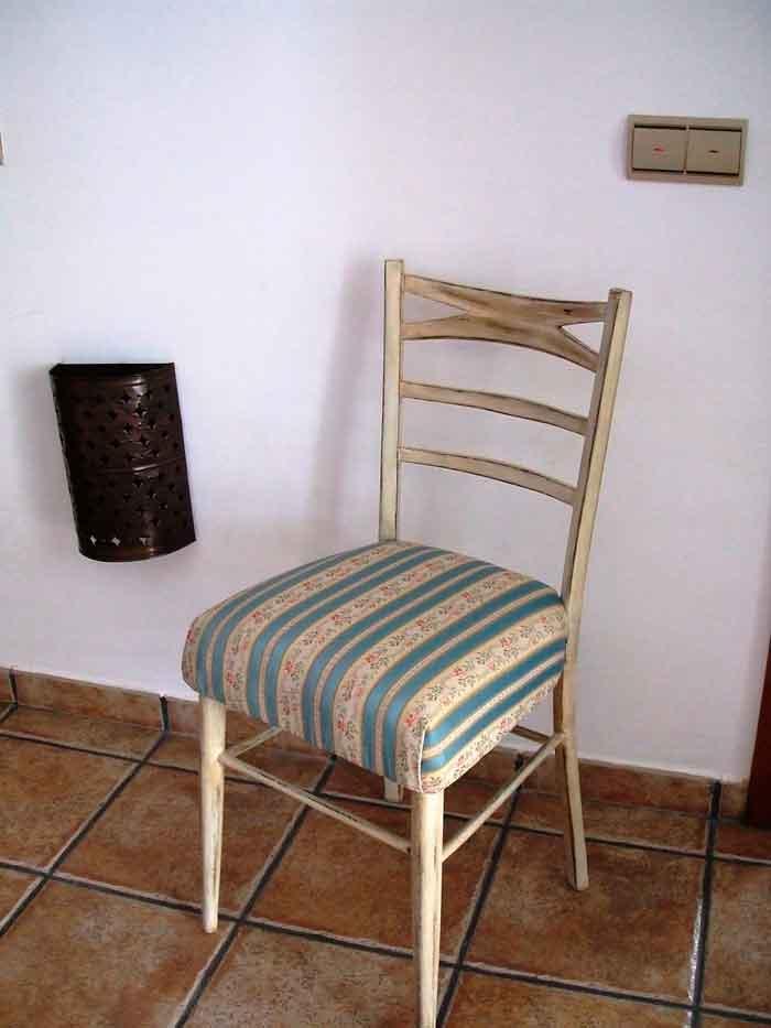 Restaurar una silla vieja a estilo vintage el taller - Restaurar muebles de madera ...